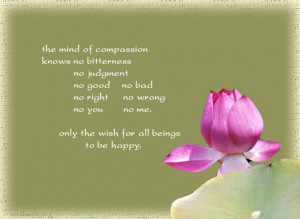 Compassion quotes - wish for all beings happy