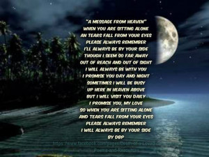 Remember Lost Loved Ones Quotes | ... remembering loved ones at ...