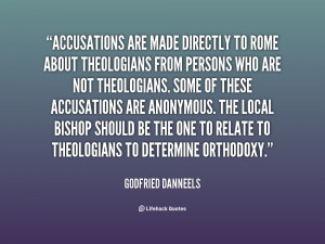 Quotes About Accusations