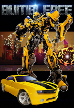 transformers bumblebee poster