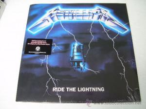 Metallica Ride Lightning Vinilo Grabado De Las Cintas Originales Heavy ...