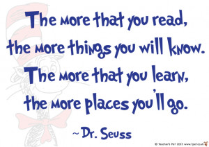 Teacher's Pet - Dr. Seuss Poster - The more than you... - FREE ...