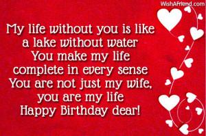 Happy Birthday Images For Wife Happy birthday dear!