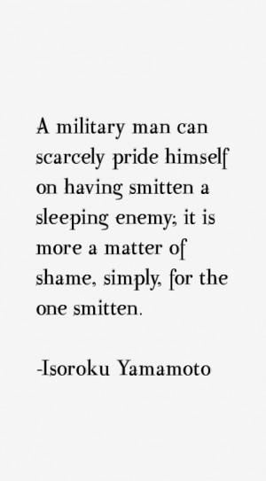 Isoroku Yamamoto Quotes & Sayings