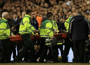 look at that [Muamba collapsing] and think, 'That could've been me ...