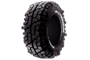 Aren't those Nitto Mud Grapplers? These are TSL Thornbirds, the tread ...