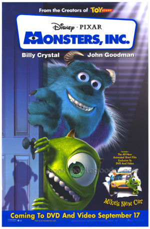 Peter Docter Monsters Inc