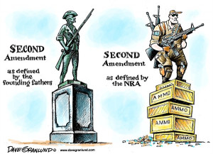 Second Amendment and NRA © Dave Granlund,Politicalcartoons.com,2nd ...