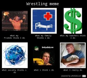 wrestling vs basketball meme