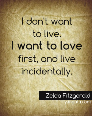 Zelda Fitzgerald Quotes Love