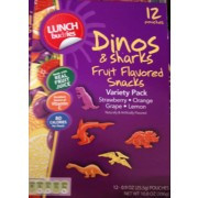 Photo of Lunch Buddies Fruit Flavored Snacks, Dinos & Sharks