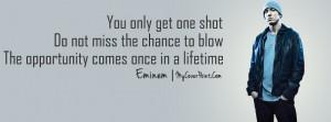 Eminem Quote Facebook Timeline Cover