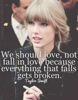Too scared to fall in love quotes