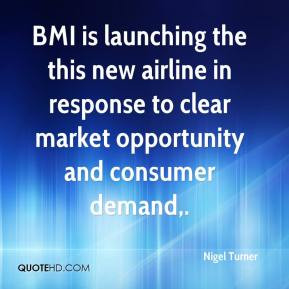 Nigel Turner - BMI is launching the this new airline in response to ...