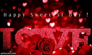 Sweetest Day Sweetheart Message Bottle
