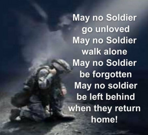 No soldier.. #Dielikeaherogoinhome
