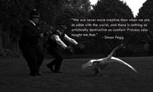 Simon Pegg motivational inspirational love life quotes sayings ...
