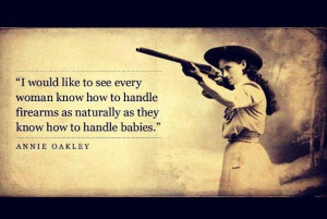 Annie Oakley on Guns