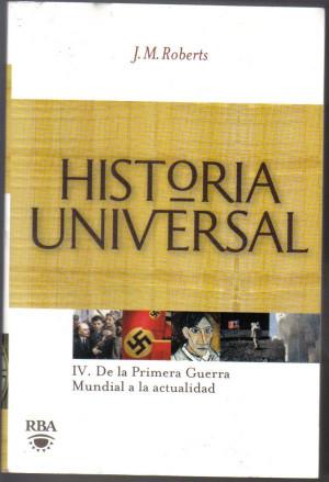 libro j m roberts historia universal primera guerra mundial