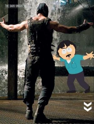 Randy Marsh vs Bane