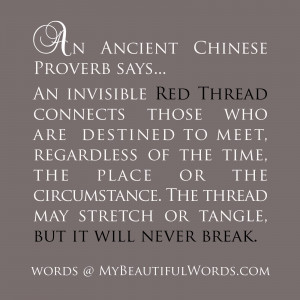 The Red Thread...