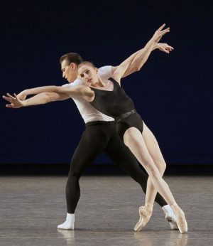 Wendy Whelan bids farewell to NYCB next October. Here she is with ...