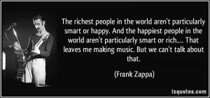 The richest people in the world aren't particularly smart or happy ...