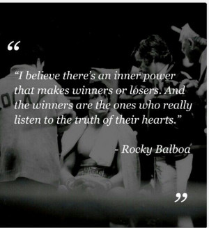 Rocky balboa quote: Motivation Movie Quote, Rocky Quotes, Tiger Babys ...