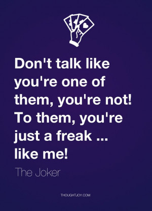 Don Talk Like You One Them Not