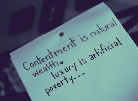 Contentment Quotes & Sayings