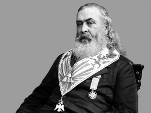Albert Pike was the most famous Scottish Freemason of his times. Pike ...