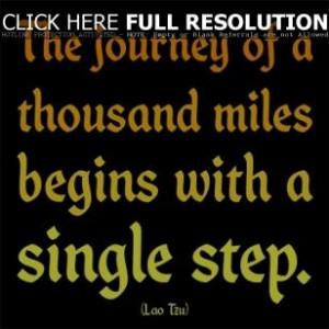 graduation quotes sayings inspirational one step lao tzu
