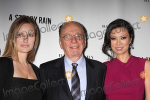 Daughter In Law Rupert Murdoch And His Wife Wendi Deng