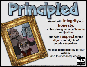 To learn more about being principled, see the resources below!
