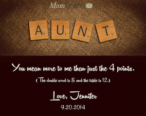 ... Aunt Birthday Gift Metal Art Tin Sign Wedding Print New Aunt Gift Maid