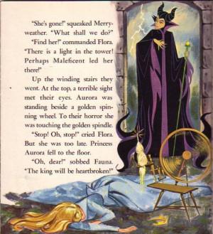 Sleeping Beauty Maleficent & Aurora