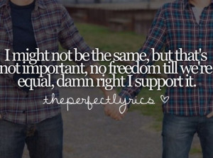 Macklemore Same Love Quotes