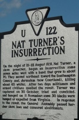 quote nat turner s rebellion also known as the southampton