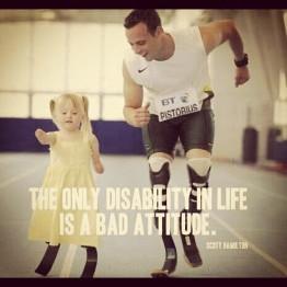 oscar pistorius Bad attitudes do not cause disability any more than ...