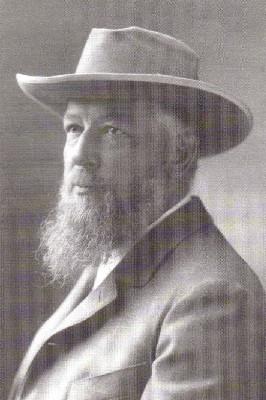 Ostwald als Austauschprofessor in den USA 1905 Foto Wilhelm