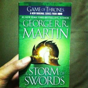 Favorite book A Storm of Swords