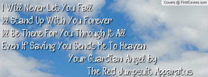 ... to heaven your guardian angel by the red jumpsuit apparatus , Pictures