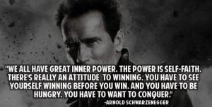 INNER POWER MAKES STRONGER