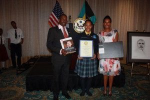 Photo 2 - New Providence winner Shaquille Sands, 12th grade student at ...