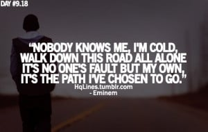 eminem, hqlines, lyrics, quotes, recovery, sayings