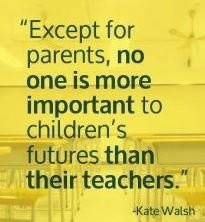 Good teachers can make a big difference!