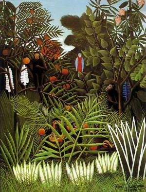 Exotic Landscape, 1908 by Henri Rousseau