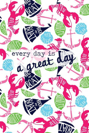 Lilly Pulitzer iPhone background