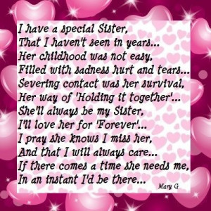 Sister   Inspirational Poems and Quotes, 400x400 in 96.2KB