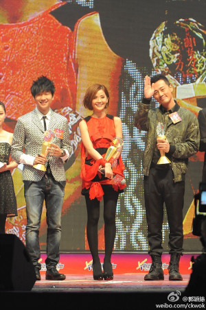 Metro Radio Asia's Most Popular Idol Award: Charlene Choi, Raymond Lam ...